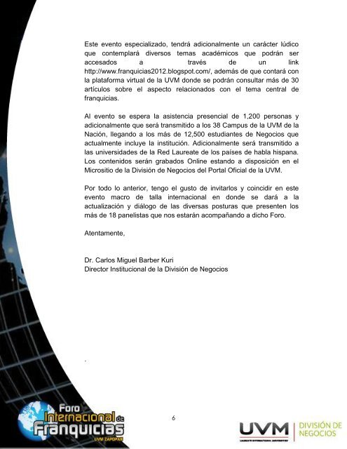 Brochure Franquicias - My Laureate