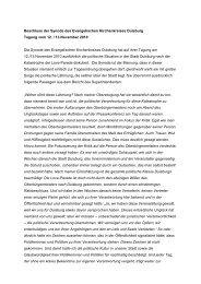 Beschluss der Synode zum Thema - Evangelischer Kirchenkreis ...