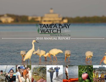 2010 Annual Report - Tampa Bay Watch
