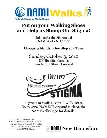 Sunday, October 3, 2010 Put on your Walking Shoes and Help us ...