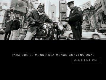 PARA QUE EL MUNDO SEA MENOS CONVENCIONAL - Hasselblad