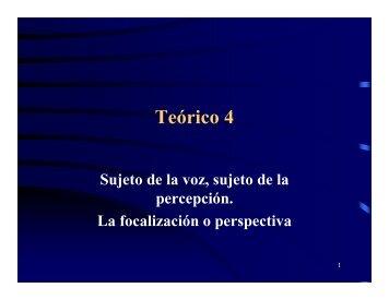 Teórico 4