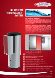 HELIOTHERM FRISCHWASSER- SYSTEM - AKK GmbH Kramer ...