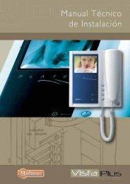 Manual instalación Vista Plus - Golmar