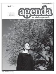 www.kulturagenda.ch April | 11