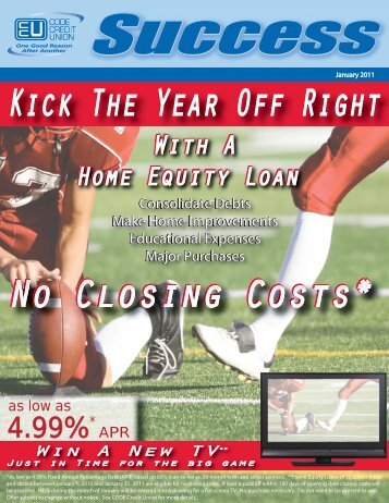 With A Home Equity Loan No Closing Costs - CODE Credit Union