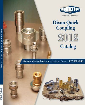 Dixon Quick Coupling 2012 Catalog - Drive Products