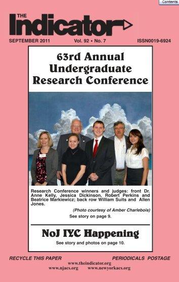 THE INDICATOR - September 2011 - Newsletter of NJ & NY ...