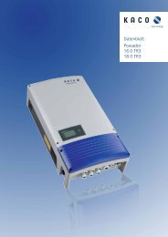 Powador 16.0 TR3 18.0 TR3 Datenblatt - glowbell