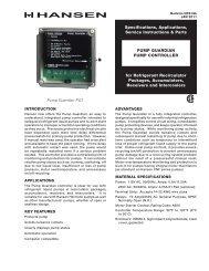 Pump Guardian - Hansen Technologies