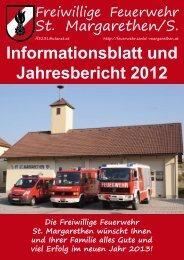 Rundschreiben 2012 - Freiwillige Feuerwehr St.Margarethen
