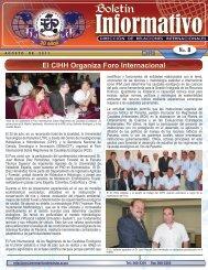 Boletín DRI agosto 2011 - Universidad Tecnológica de Panamá