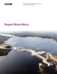 Rupert River Weirs - Canadian Consulting Engineer