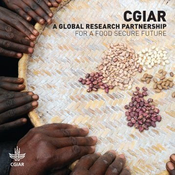 a global research partnership for a food secure future - CGIAR Library