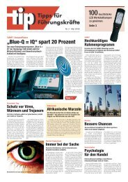 """Blue-Q = IQ"" spart 20 Prozent - Still GmbH"