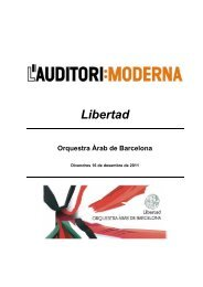 Dossier de Premsa OAB - L'Auditori