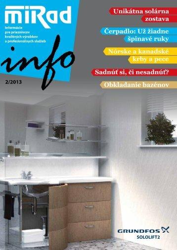 MIRAD Info, číslo 2/2013