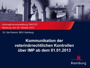 Integration der Behördenanmeldungen - am Beispiel des Veterinär