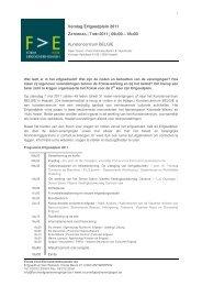 Verslag Erfgoedplein 2011 ZATERDAG | 7 MEI 2011 | 09 U00 – 18 U00 ...