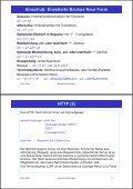2. Www-Protokolle und -Formate HTTP (1) - Page 2