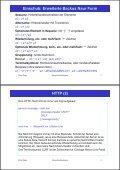 2. Www-Protokolle und -Formate HTTP (1) - Seite 2