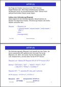 2. Www-Protokolle und -Formate HTTP (1) - Page 3
