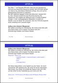 2. Www-Protokolle und -Formate HTTP (1) - Page 4