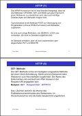 2. Www-Protokolle und -Formate HTTP (1) - Seite 5