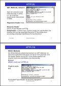 2. Www-Protokolle und -Formate HTTP (1) - Seite 6