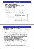 2. Www-Protokolle und -Formate HTTP (1) - Page 7