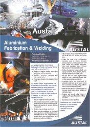 Aluminium Fabrication & Welding - Austal Ships