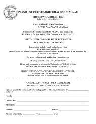 plano executive night oil & gas seminar thursday, april 11, 2013 7:30 ...