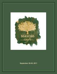 September 26-30, 2011