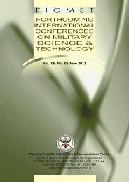 FICMST Vol 06 No 06 June 2011.cdr - DRDO