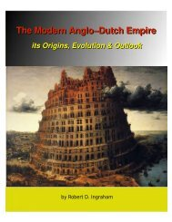 The Modern Anglo-Dutch Empire