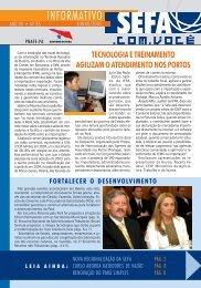 Informativo nº 85 - Junho - Sefa - Governo do Estado do Pará