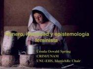 (Microsoft PowerPoint - Vortrag 18, Género, identidad, pobreza y ...