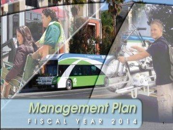 Item F2 - FY 2014 Management Plan - PowerPoint - Omnitrans