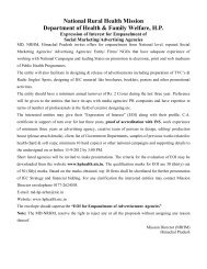 LIST OF ENROLMENT AGENCIES FOR EMPANELMENT BY UIDAI
