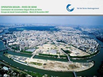 operation seguin – rives de seine - Boulogne - Billancourt