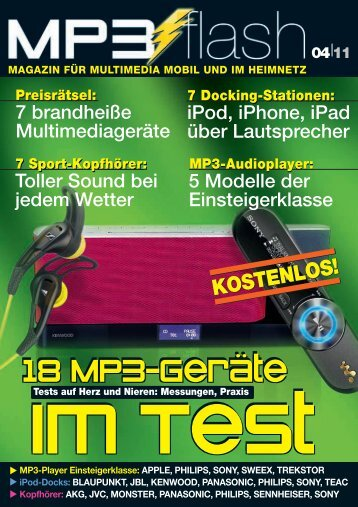 18 MP3-Geräte - mp3 Flash