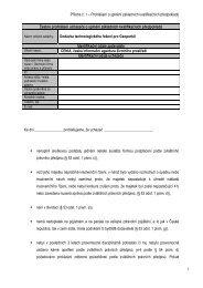 Příloha č. 1 - CENIA, česká informační agentura životního prostředí