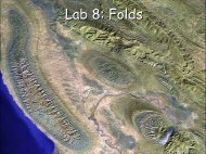 Lab 8: Folds - Geophysics at Georgia Tech