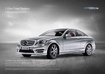 c-Klass coupé Business. - Mercedes-Benz