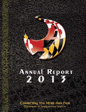 Annual Report 2012 - 2013 - DOTS - University of Maryland