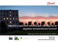 Inovatīvs apkures renovācijas risinājums ar atgaitas temperatūras ...