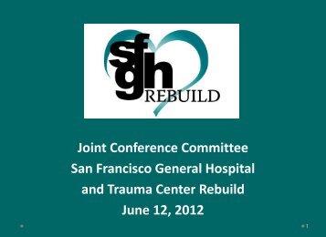 SFGH JCC June 12, 2012 - San Francisco Department of Public ...