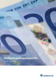 Halbjahresfinanzbericht