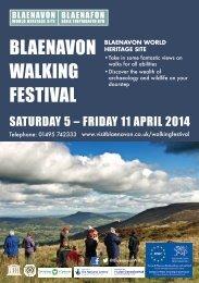 Blaenavon Walking Festival 2014