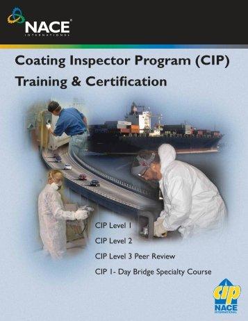 Coating Inspector Program (CIP) Training & Certification - Nacegb.org